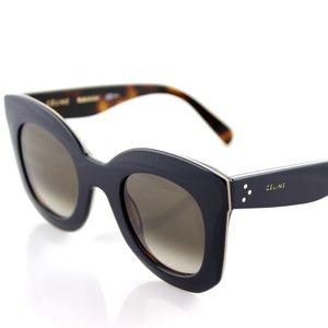 *Rare* Celine Paris Sunglasses Navy / Tortoise